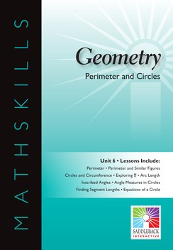 MATHSKILLS / IWB / GEOMETRY / PERIMETER AND CIRCLES