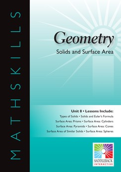 MATHSKILLS / IWB / GEOMETRY / SOLIDS AND SURFACE AREA
