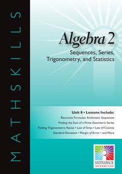 MATHSKILLS / IWB / ALGEBRA 2 / SEQUENCES, SERIES, TRIG, STAT