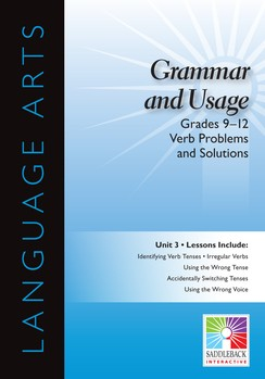 LANG ARTS IWB / GRAMMAR / GR 9-12 / VERB PROBLEMS