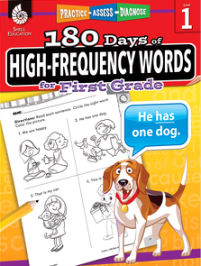 180 DAYS / HIGH-FREQUENCY WORDS / FIRST GRADE