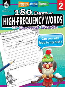 180 DAYS / HIGH-FREQUENCY WORDS / SECOND GRADE