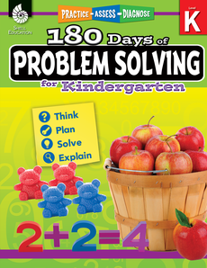 180 DAYS / PROBLEM SOLVING / KINDERGARTEN