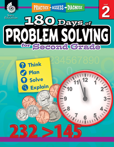 180 DAYS OF PROBLEM SOLVING / SECOND GRADE
