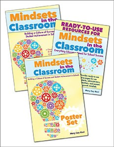 MINDSETS IN THE CLASSROOM (SET OF 2 BOOKS & 6 POSTERS)