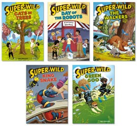 SUPER-WILD (SET OF 5)