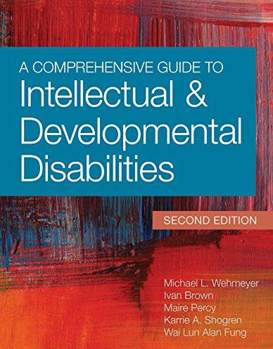 COMPREHENSIVE GUIDE TO INTELLECTUAL AND DEVELOPMENTAL…