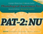 Phonological Awareness Test 2: Normative Update (PAT-2: NU)