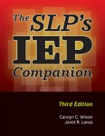 The SLP's IEP Companion