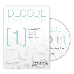 TERL PHONICS / DECODE [1] / AUDIOBOOK SET (CD)