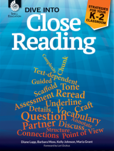 DIVE INTO CLOSE READING | GRADES K - 2
