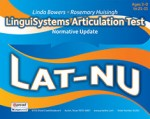 LinguiSystems Articulation Test - Normative Update (LAT-NU)