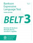 Bankson Expressive Language Test (BELT-3)