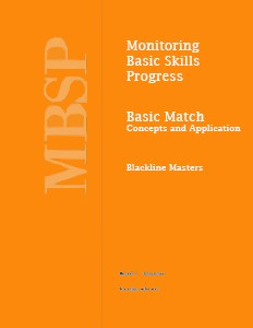 Monitoring Basic Skills Progress (MBSP)