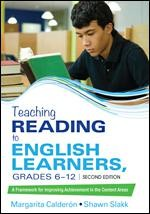 TEACHING READING TO ENGLISH LANGUAGE LEARNERS | GR 6 - 12