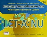 Listening Comprehension Test - Adolescent: Normative Update  (LCT-A:NU)