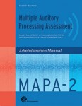 Multiple Auditory Processing Assessment (MAPA-2)