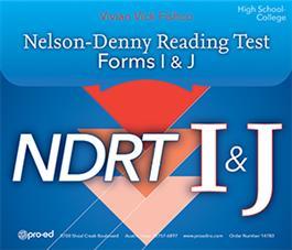 NELSON-DENNY READING TEST (NDRT)