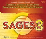 Screening Assessment for Gifted Elementary and Middle School Students (SAGES-3)