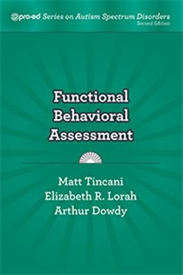 PRO-ED / FUNCTIONAL BEHAVIORAL ASSESSMENT