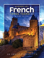 FRENCH / THREE YEARS | ANSWER KEY (THIRD EDITION)