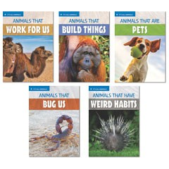 IT'S ALL ANIMALS / LEVEL 1 (5 BOOK SET)