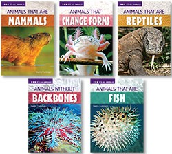 IT'S ALL ANIMALS / LEVEL 3 (5 BOOK SET)